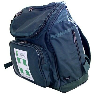 Empty First Aid Backpack in Green