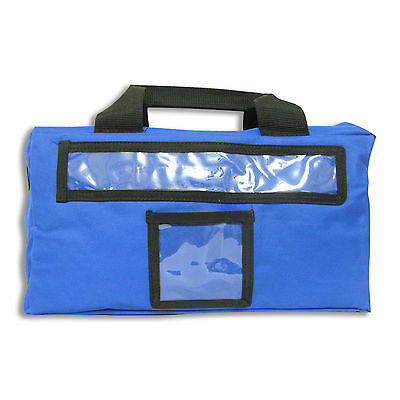 Empty Large First Aid Bag Blue in Blue