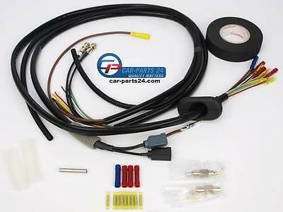 Repair wiring harness tailgate Highly flexible cable left side for BMW E61
