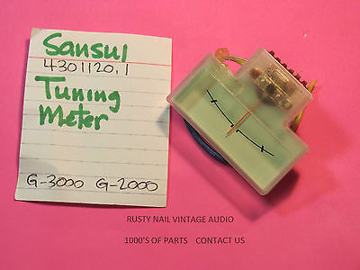 Sansui 4301120.1 Tuning Meter G-3000 G-2000 Stereo Receivers