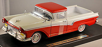 Ford Ranchero Custom Pick-Up 1957 weiß white 1:18 Yat Ming