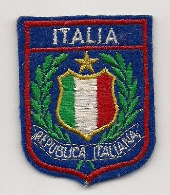 Souvenir Patch - Country Of Italy