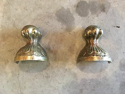 Brass Plated Antique Claw Foot - Set of 2 - 5.25""