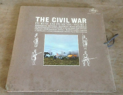THE CIVIL WAR its music and its sounds*volume 2 US MERCURY 2-LP + BOOKLET