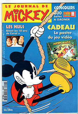 LE JOURNAL DE MICKEY n°2211 ¤ 1994 ¤ LES NULS CANAL+