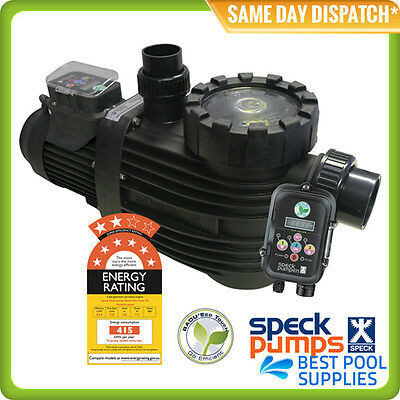 Speck Badu Eco Touch Variable Speed Pool Pump - 8 Star Rating -German Engineered