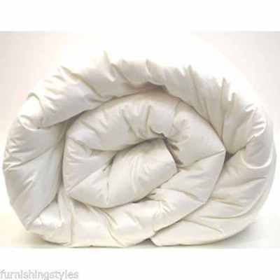 Hollowfibre Duvet Single Double King Superking 4.5T, 10.5, 13.5, 15 Tog Quilt Pp