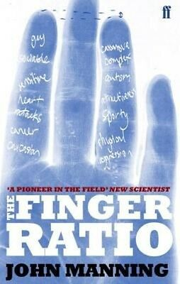 The Finger Book by John T. Manning Paperback Book