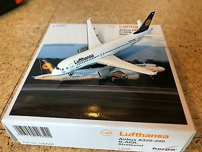 Herpa Wings 1:500 Lufthansa Airbus A320 516501