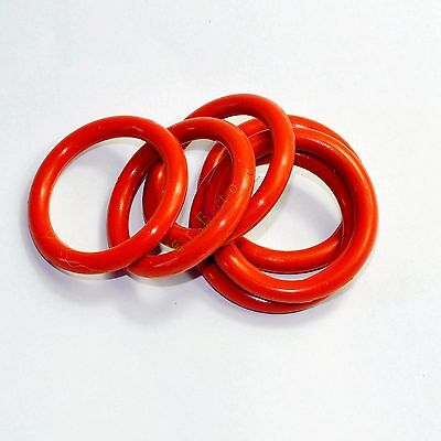 33mm Tube Dampers Silicone Ring ft 6L6G 6L6GC 6CA7 6L6GCR tube Audio amps 10pcs