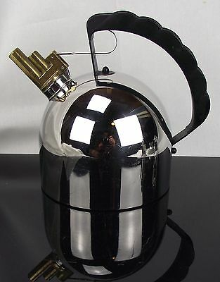 Richard Sapper Melodic Whistle Kettle Alessi Italy
