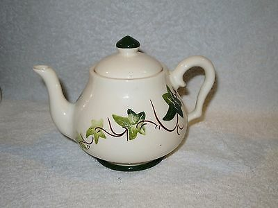 Vintage Babbacombe Pottery Ivy Leaf 1 Pint Tea Pot Philip Laureston