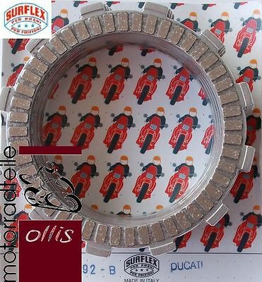 Surflex clutch friction plate set - Ducati Monster 620 - year '05-'06