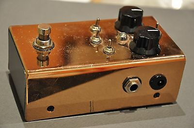 Rockett Masterbuilt Boost  Pedal - Copper Limited Edition - Made In Usa