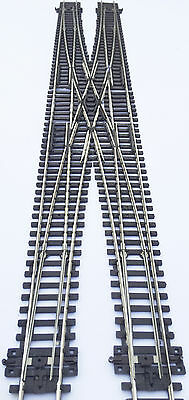 Peco based long Double Crossover Scissor Crossing Points OO gauge