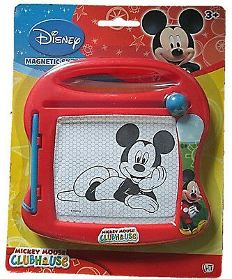 Disney Mickey Mouse Magnetic Sketcher Clubhouse Drawing Board With Pen Toy NEW