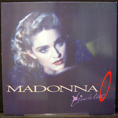 """MADONNA LIVE TO TELL 1986 12"""" SIRE Maxi POP"""