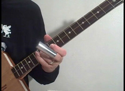 How to play 3 string Cigar Box Guitar Country & Blues-great for kit & amp makers
