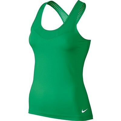 New Womens Nike Pro HyperCool Racer Back Running Tank Vest Size 14 Large