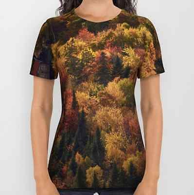 All over tshirt Medium - Landscape in Canada - Autumn