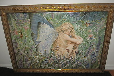SHEILA WOLK field of dreams ART print on canvas framed GICLEE 1998 made USA
