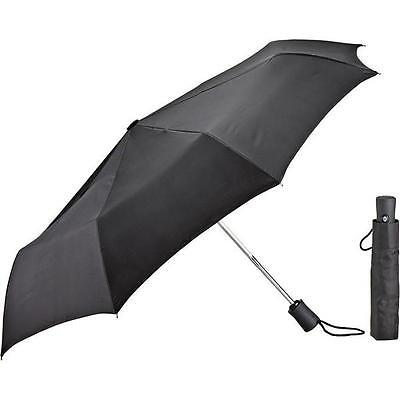 Lewis N. Clark Black Compact Umbrella - Full Size/Automatically Opens & Closes