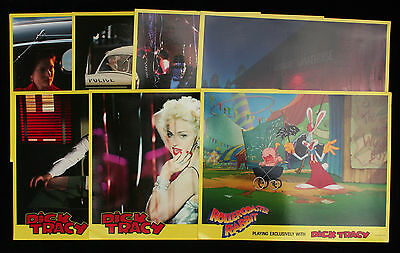 Dick Tracy & Rollercoaster Rabbit Roger - Lobby Cards / Front of House Stills 12