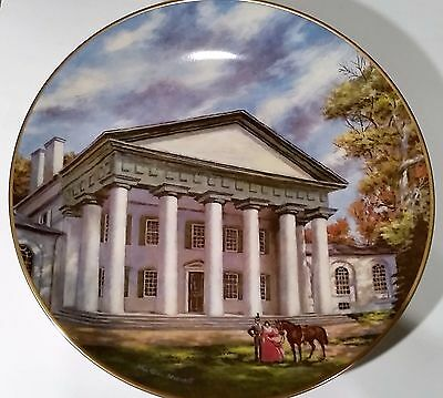 "AMERICAN COMMEMORATIVE COUNCIL GORHAM CHINA - CUSTIS MANSION  - 11"" Plate 1979."