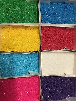 Flavoured rock candy crystals 200g