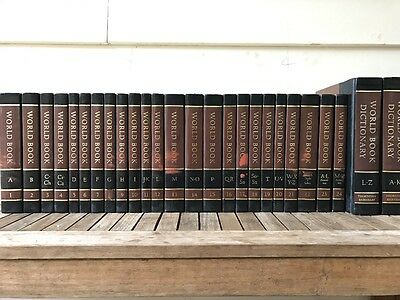 1976 Complete set of 22 WORLD BOOK ENCYCLOPEDIAS