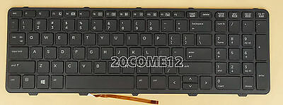 NEW for HP PROBOOK 650 G1 655 G1 KEYBOARD BACKLIT with Frame US