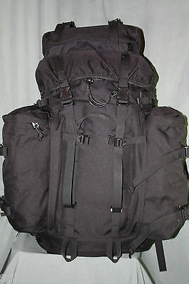Tactical Black 80 Liter Bergen Back Pack