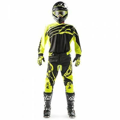 Completo Cross Acerbis X-Gear Offroad Gear Fluo Yellow/black Giallo/nero