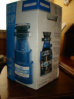 SinkGuard 1/3 HP Insinkerator Garbage Disposal Unit
