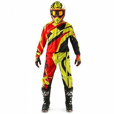 Completo Cross Acerbis Profile Offroad Gear Red/fluo Yellow Rosso/giallo