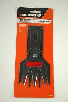 """Black & Decker 3 in. Grass Shear Replacement Blade RB07 3"""" for GS700 Brand New"""