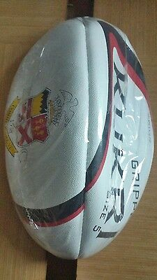 Brand New Rugby Ball Size 5 Gripper Kukri