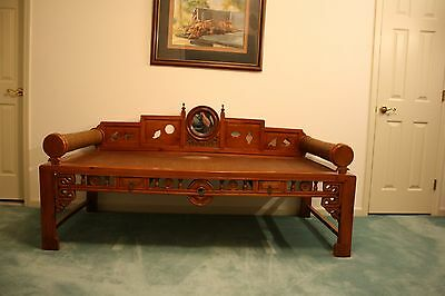 Antique Chinese Day Opium Bed