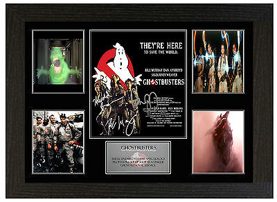 Ghostbusters  - A3 Signed Framed Collectors Display Picture