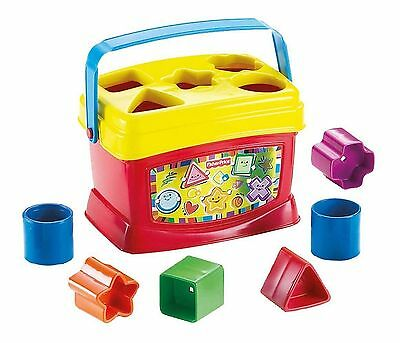 Baby Blocks Stack Sorting Shapes Learning Toy Kid Toddler Education Fisher-Price