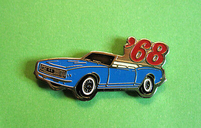 1968  CAMARO  RS / SS   convertible  - hat pin , tie tac , lapel pin , hatpin