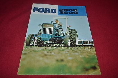 Ford 2000 3000 Tractor Dealers Brochure YABE10