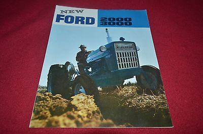 Ford 3000 2000 Tractor Dealers Brochure YABE10