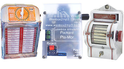 Packard2mp3 MP3 adapter for packard pla-mor and buckley music jukebox wallbox
