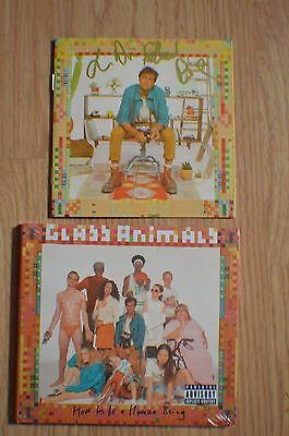 GLASS ANIMALS ~ How To Be A Human Being Autographed CD w/ COA Entire Band 2016