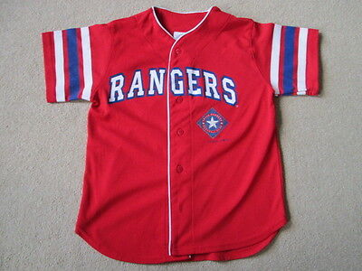 Texas Rangers MLB Baseball Jersey Shirt - Gonzalez #19 - Youth Medium