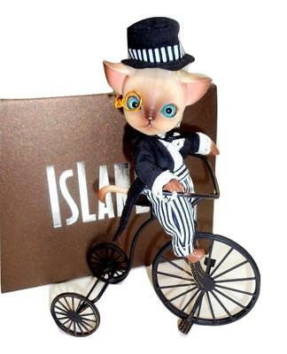 Mr. Luo (Cat) Forest Island Doll Pocket Pet Tiny BJD 10.5cm Outfit Eyes Box LE30