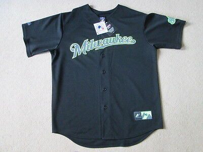 Milwaukee Brewers MLB Baseball Limited Edition Jersey Shirt - Mens Large NWT