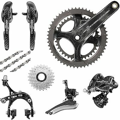 Campagnolo Chorus 2015 Groupset 52/36 172.5mm 11-27 New In Box