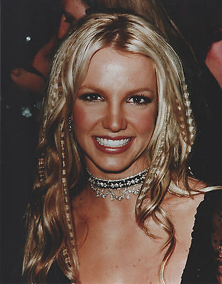 Britney Spears 8 X 10 Photo With Ultra Pro Toploader